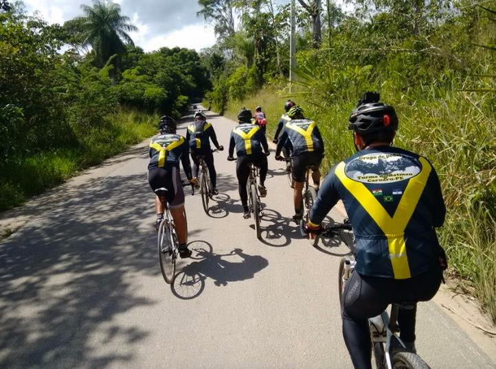 Ciclistas percorrerão 40 km  passando por diversas localidades. Foto: Ascom Polo
